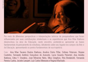 Seminário: As trajetórias de Ana Mae Barbosa