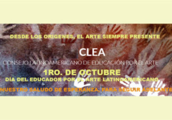 Saludo del Director del Consejo Latinoamericano de Educación por el Arte