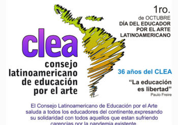 1º de Octubre – Día del Educador por el Arte Latinoamericano